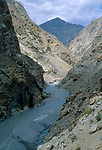 Sutlej river, Himachal Pradesh, India, August 2001.