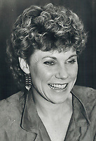 1985 FILE PHOTO - ARCHIVES -<br /> <br /> Anne Murray<br /> <br /> 1985<br /> <br /> PHOTO :  Erin Comb - Toronto Star Archives - AQP