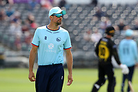 Sir Alastair Cook of Essex during Gloucestershire vs Essex Eagles, Royal London One-Day Cup Cricket at the Bristol County Ground on 3rd August 2021