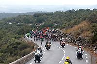 31st August 2020, Nice to Sisteron, France; Tour de France cycling tour, stage 3; the peloton