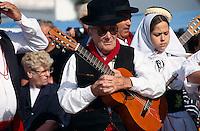 Spanien, Kanarische Inseln, Lanzarote, Sonntagsmarkt in Teguise, Folklore