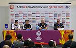 Qatar vs DPR Korea during the AFC U-23  Championship Qatar 2016 Quarter finals match on January 21, 2016 at the Jassim Bin Hamad Stadium in Doha, Qatar. Photo by Fadi Al-Assaad / Lagardère Sports