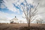 St. Catherine Catholic Church, built 1862, Hornitos, Calif.