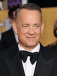 Tom Hanks attends The 20th SAG Awards held at The Shrine Auditorium in Los Angeles, California on January 18,2014                                                                               © 2014 Hollywood Press Agency