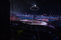 OLYMPIC GAMES: PYEONGCHANG: 09-02-2018, PyeongChang Olympic Stadium, Olympic Games, Opening Ceremony, Entrance USA,©photo Martin de Jong