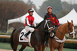 #2 Ride On Curlin with jockey Kent Desormeaux aboard during post parade before the running of the Rebel Stakes (Grade II) at Oaklawn Park in Hot Springs, Arkansas-USA on March 15, 2014. (Credit Image: © Justin Manning/Eclipse/ZUMAPRESS.com)