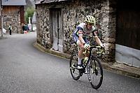 Jan Bakelants (BEL/Intermarché - Wanty - Gobert) up the Col de Portet-d'Aspet<br /> <br /> Stage 16 from El Pas de la Casa to Saint-Gaudens (169km)<br /> 108th Tour de France 2021 (2.UWT)<br /> <br /> ©kramon