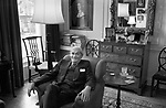 Dr William Walters Sargant (24 April 1907 – 27 August 1988) His St John Wood home 19 Hamilton Terrace, NW8. 1975. Author of The Mind Possessed.