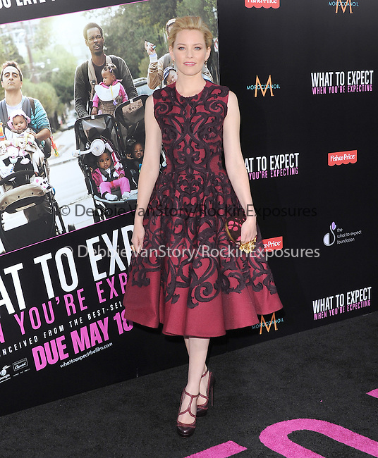 Elizabeth Banks at Lionsgate L.A. Premiere of  What to Expect When You're Expecting held at The Grauman's Chinese Theatre in Hollywood, California on May 14,2012                                                                               © 2012 Hollywood Press Agency
