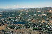 aerial photograph of Hidden Valley Lake, Lake County, California