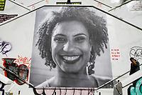 21.03.2018 - Homenagem para Marielle Franco em Pinheiros SP
