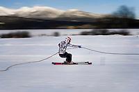 2011 Skijoring World Championship in Whitefish, Montana