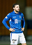 St Johnstone v Hearts…30.10.19   McDiarmid Park   SPFL<br />Drey Wright<br />Picture by Graeme Hart.<br />Copyright Perthshire Picture Agency<br />Tel: 01738 623350  Mobile: 07990 594431