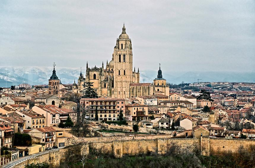 Cityscape, Segovia, Spain