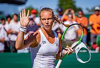 London, England, 2 th July, 2018, Tennis,  Wimbledon,  Kiki Bertens (NED) wins and jubilates<br /> Photo: Henk Koster/tennisimages.com