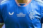15.05.2021 Rangers v Aberdeen: Champions shirt