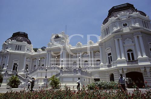 Rio de Janeiro, Brazil. The Governor's Palace.