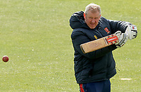Anthony McGrath (head coach) of Essex leads fielding drills during Essex CCC vs Kent CCC, Friendly Match Cricket at The Cloudfm County Ground on 29th March 2021