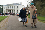 Tichborne Dole. Tichborne, near Arlesford, Hampshire. UK. Annually on Lady Day, March 25th 2007.
