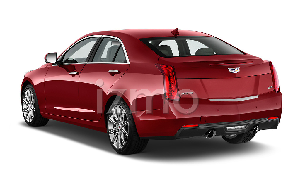 Car pictures of rear three quarter view of a 2015 Cadillac ATS 2.5L Standard RWD 4 Door Sedan Angular Rear