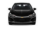 Car photography straight front view of a 2019 Chevrolet Cruze LT 4 Door Sedan Front View