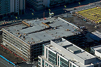aerial photograph construction San Francisco, California