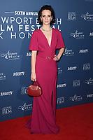 Charlotte Carroll<br /> arriving for the Newport Beach Film Festival UK Honours 2020, London.<br /> <br /> ©Ash Knotek  D3551 29/01/2020