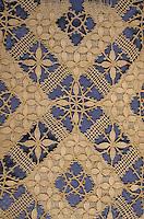 Europe/France/Auvergne/43/Haute-Loire/Le Puy-en-Velay: Le musée Crozatier - Détail dentelle de fil