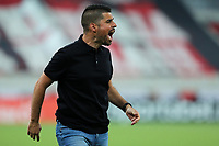 25th August 2021;  Arena da Baixada, Curitiba, Paraná, Brazil;  Brazil Copa  football, Athletico Paranaense versus Santos;  Coach António Oliveira do Athletico, during the match