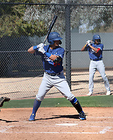 Miguel Vargas - Los Angeles Dodgers 2019 spring training (Bill Mitchell)