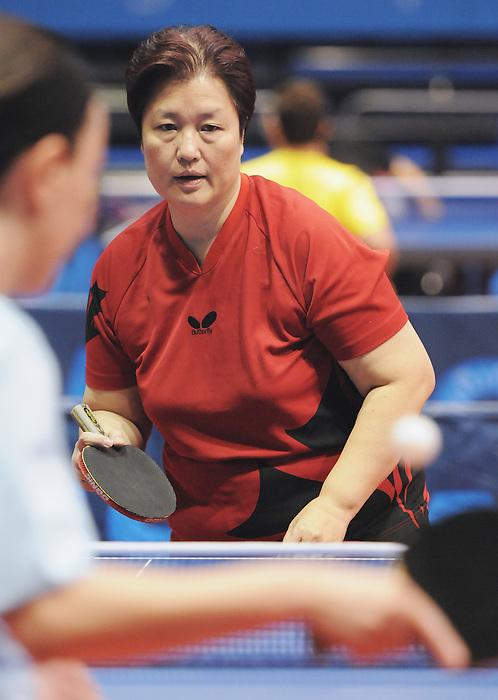 Stephanie Chan, Guadalajara 2011 - Para Table Tennis // Paratennis de table.<br /> Stephanie Chan competes in table tennis // Stephanie Chan fait du tennis de table. 11/14/2011.