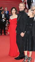 JULIETTE BINOCHE LAMBERT WILSON 'The Killing Of A Sacred Deer' Red Carpet Arrivals - The 70th Annual Cannes Film Festival at Palais des Festivals on May 22, 2017 in Cannes, France. # 70EME FESTIVAL DE CANNES - RED CARPET 'MISE A MORT DU CERF SACRE'