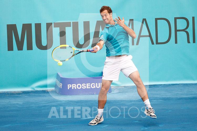 Richard Gasquet during Mutua Madrid Open 2012 match on may 8th 2012...Photo: Cesar Cebolla / ALFAQUI