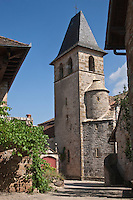 Europe/Europe/France/Midi-Pyrénées/46/Lot/Loubressac: L'église - Plus Beaux Villages de France