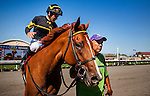August  17 2014: Judy The Beauty with Mike Smith aboard wins the Rancho Bernardo Handicap at Del Mar Race Track in Del Mar CA. Alex Evers/ESW/CSM