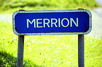 Thursday 15 June 2017<br /> Pictured: Merrion sign outside Castlemartin range.<br /> Re: A soldier has been killed and three others injured after an incident involving a tank at a Ministry of Defence base in Pembrokeshire.<br /> The soldier, from the Royal Tank Regiment, died in the incident at Castlemartin Range.<br /> Two people were taken to Morriston Hospital in Swansea, while another casualty remains in Cardiff's University Hospital of Wales.<br /> An investigation is under way.<br /> Live firing was scheduled to take place at the range between Monday and Friday.<br /> In May 2012, Ranger Michael Maguire died during a live firing exercise at the training base. An inquest later found he was unlawfully killed.
