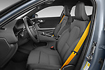 Front seat view of 2021 Polestar Polestar-2 Pilot-Plus 5 Door Hatchback Front Seat  car photos