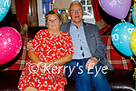 Maurice Leahy from Causeway celebrating his 70th in the Grand Hotel on Saturday, seated with his wife Carmel,