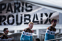 Team AG2R La Mondiale<br /> <br /> Team Presentation Saturday<br /> <br /> 117th Paris-Roubaix (1.UWT)<br /> 1 Day Race: Compiègne-Roubaix (257km)<br /> <br /> ©kramon