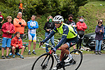 Richie Porte (AUS) Trek-Segafredo descends the mountain after the finish of Stage 3 of the Route d'Occitanie 2020, running 163.5km from Saint-Gaudens to Col de Beyrède, France. 3rd August 2020. <br /> Picture: Colin Flockton | Cyclefile<br /> <br /> All photos usage must carry mandatory copyright credit (© Cyclefile | Colin Flockton)