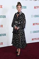 "Patricia Allison<br /> arriving for the ""Sex Education"" season 2 launch at Genesis Cinema Mile End Road, London.<br /> <br /> ©Ash Knotek  D3547 08/01/2020"