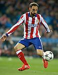 Atletico de Madrid's Juanfran Torres during Champions League 2014/2015 match.March 16,2015. (ALTERPHOTOS/Acero)