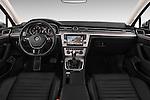 Stock photo of straight dashboard view of 2016 Volkswagen Passat Alltrack 5 Door Wagon Dashboard