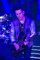 MOUNTAIN VIEW, CA - JULY 6,2014:  Avenged Sevenfold in concert at the  Rockstar Energy Drink Mayhem Festival in Mountain View, CA  (c) RTNWilson / MediaPunch.
