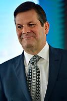 Pierre Beaudoin, Assemblee annuelle de Bombardier, 3 mai 2018<br /> <br /> <br /> PHOTO : Agence Quebec Presse