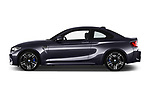 Car driver side profile view of a 2017 BMW M2 Base 2 Door Coupe