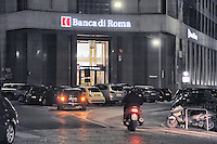 - Milan, Bank of Roma in Cordusio street....- Milano, Banca di Roma in via Cordusio