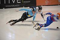 SPEEDSKATING: DORDRECHT: 06-03-2021, ISU World Short Track Speedskating Championships, SF 500m Men, Vladislav Bykanov (ISR), ©photo Martin de Jong