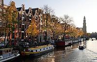 Nederland  Amsterdam -  2020. Prinsengracht. Westerkerk.   Foto : ANP/ HH / Berlinda van Dam