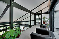 BNPS.co.uk (01202) 558833. <br /> Pic: Savills/BNPS<br /> <br /> Pictured: First floor landing. <br /> <br /> The UK home of Hollywood actor Antonio Banderas is on the market for £2.95m.<br /> <br /> The Mask of Zorro star moved from LA to Cobham in Surrey in 2015 with girlfriend Nicole Kimpel after splitting from his wife of 20 years Melanie Griffiths.<br /> <br /> They are now selling their home to spend more time in Banderas' native Malaga, where he has bought and built a theatre.